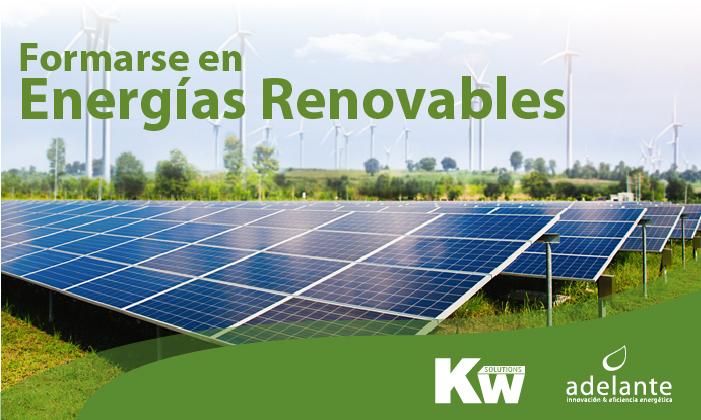 Formarse en energías renovables