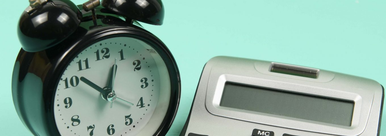 Reloj con calculadora